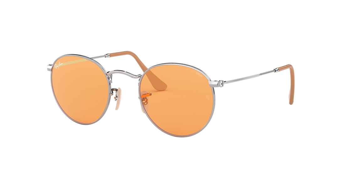c6c6a99cfa Ray-Ban RB3447 50 Orange Photocromic   Silver Sunglasses