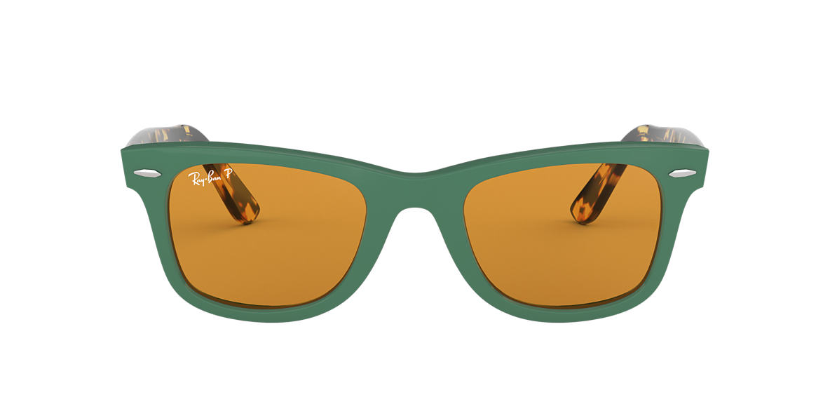 Green RB2140 WAYFARER POP Yellow  50