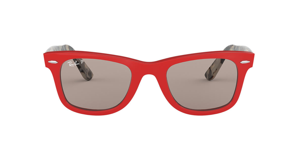 Red RB2140 WAYFARER POP Grey-Black  50