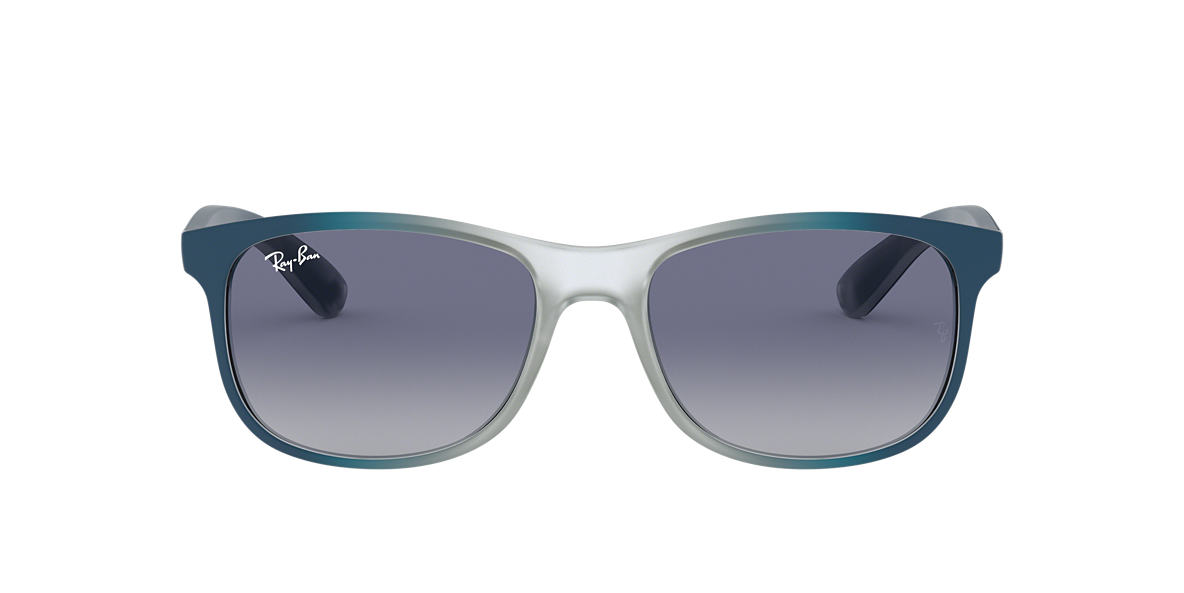 Grey RB4202 ANDY Blue Gradient  55