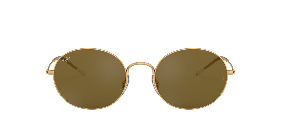 35dd1b549d Ray-Ban RB3594 53 Brown Classic B-15   Gold Sunglasses
