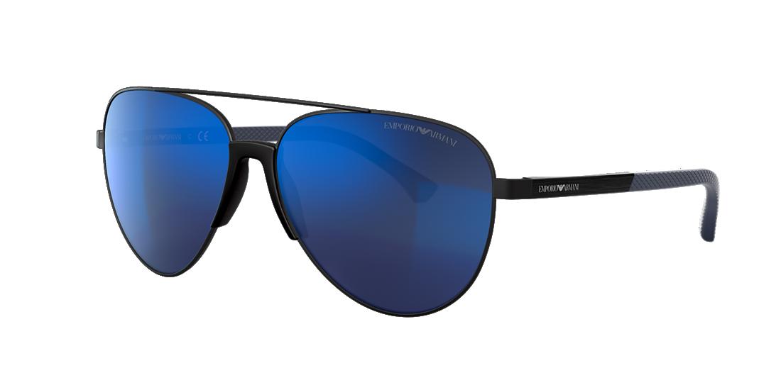 c507ae2d9379 Emporio Armani EA2059 61 Grey-Black   Black Sunglasses