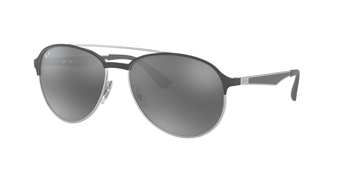 a18ac7284d20 Ray-Ban RB3606 59 Grey Gradient Mirror   Grey Sunglasses