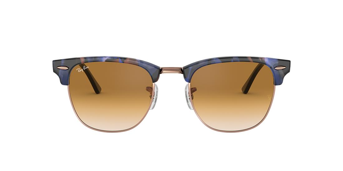 a8e2f6fb5c877 Ray-Ban RB3016 CLUBMASTER FLECK 51 Light Brown Gradient   Spotted ...