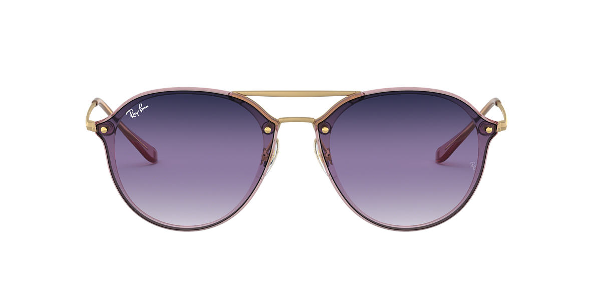 d1f316bc75f Ray-Ban RB4292N 61 Violet Blue Gradient Mirror   Pink Sunglasses ...