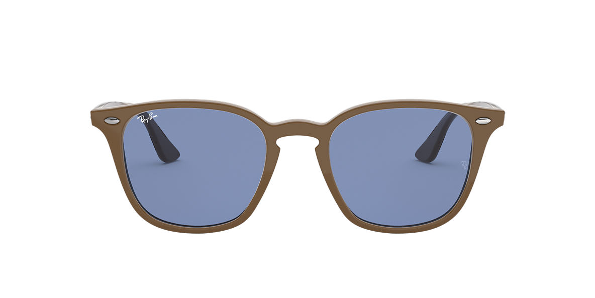 Brown RB4258 Blue Classic  50
