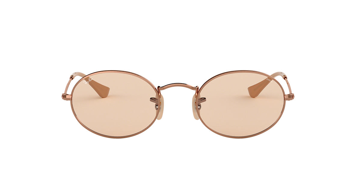 Copper RB3547N OVAL EVOLVE Brown  54
