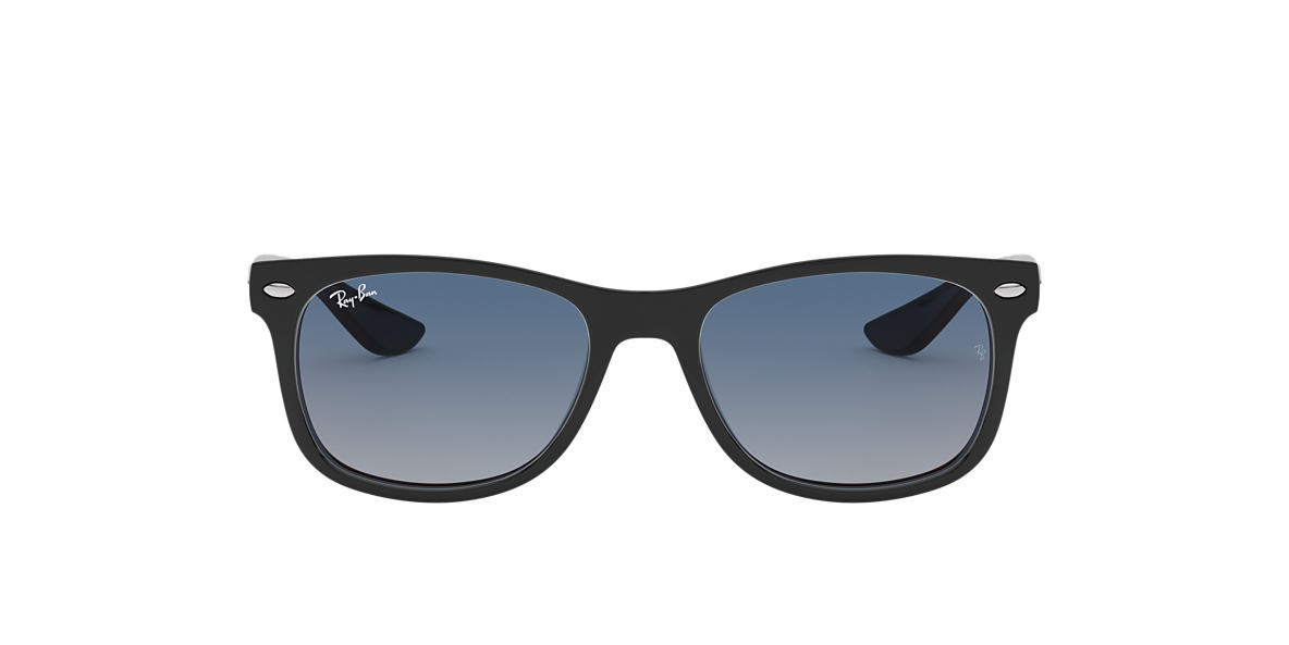 Black RJ9052S NEW WAYFARER JUNIOR Blue/Red Gradient Mirror  48
