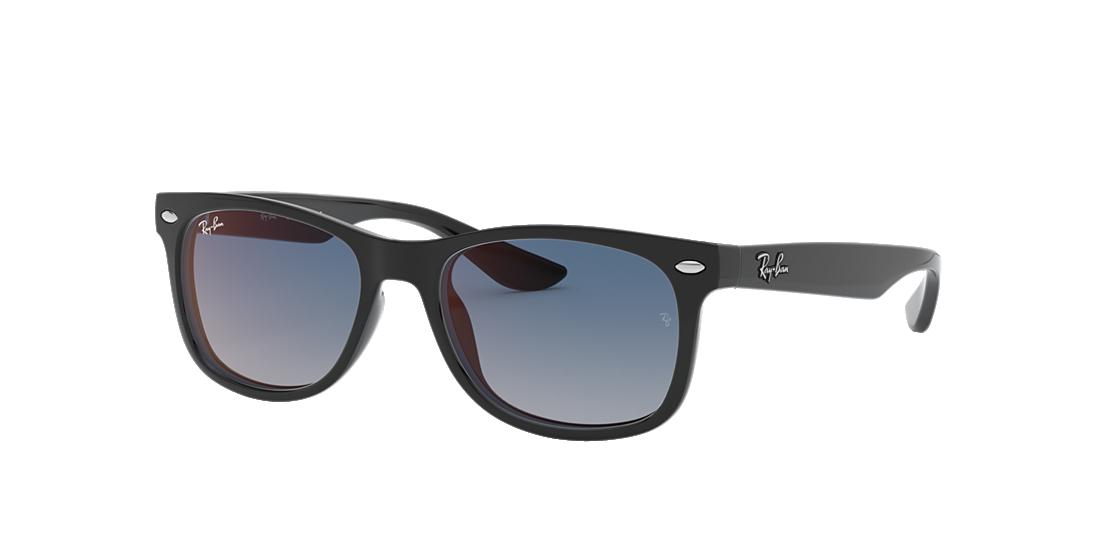 1e129bc1ef418 Ray-Ban RJ9052S 48 Blue Red Gradient Mirror   Black Sunglasses ...