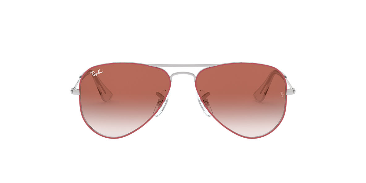 Red RJ9506S AVIATOR JUNIOR Red  50