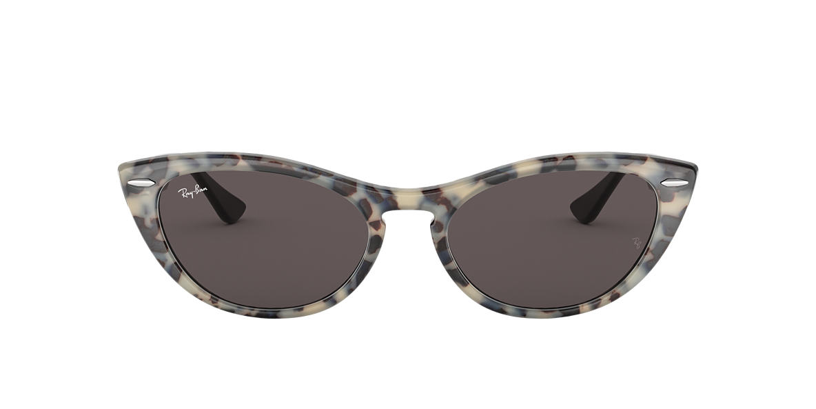 9bb4855cde Ray-Ban RB4314N 54 Washed Grey und Havana Beige Sonnenbrillen ...