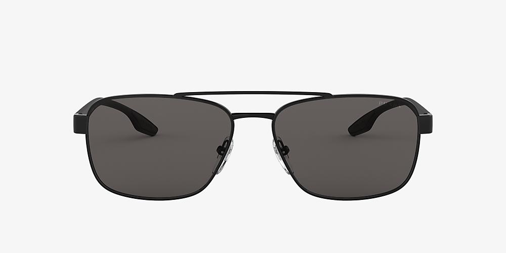 19687eeaa5af Prada Linea Rossa PS 51US 62 Grey-Black & Black Sunglasses ...