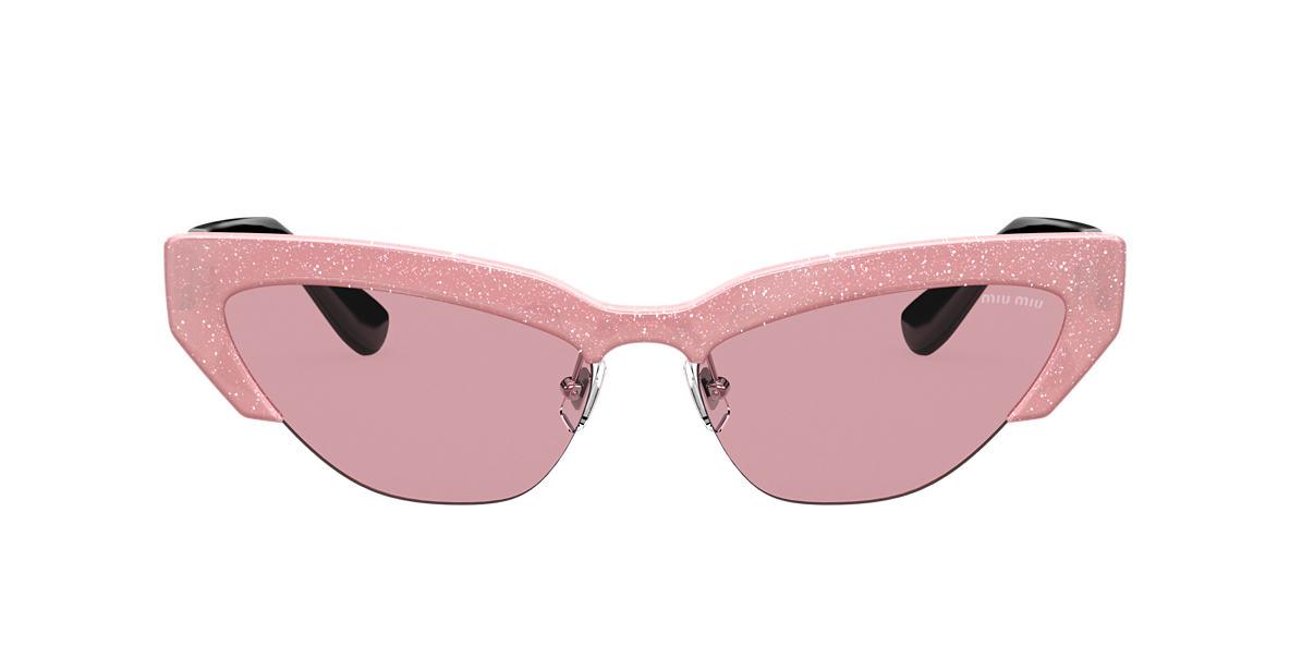11d4b25f063c5 Miu Miu MU04US 59 Violet   Pink Sunglasses