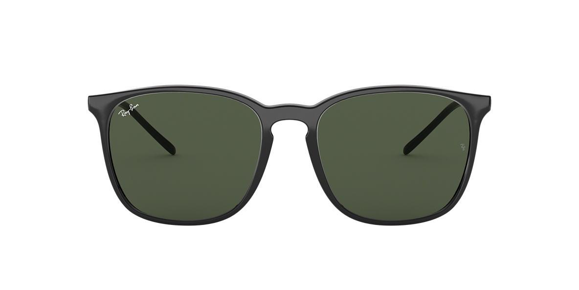 Black RB4387 Green  56