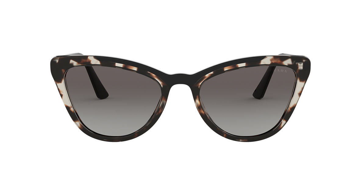 06a0a2b558 Prada PR01VS 56 Grey-Black   Brown Sunglasses