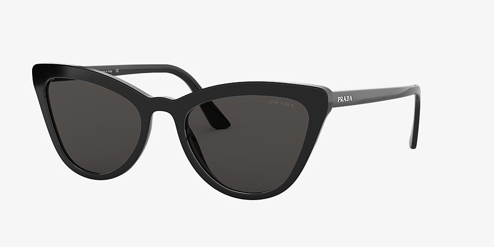 70f5b3012009 Prada PR 01VS 56 Grey-Black & Black Sunglasses   Sunglass Hut Australia
