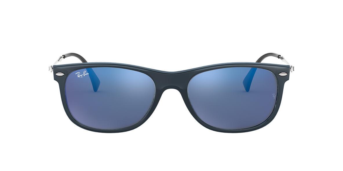 Blue RB4318 Blue Mirror  55