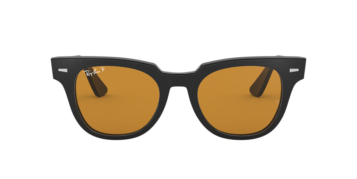 Black RB2168 Polarized Yellow Classic  50
