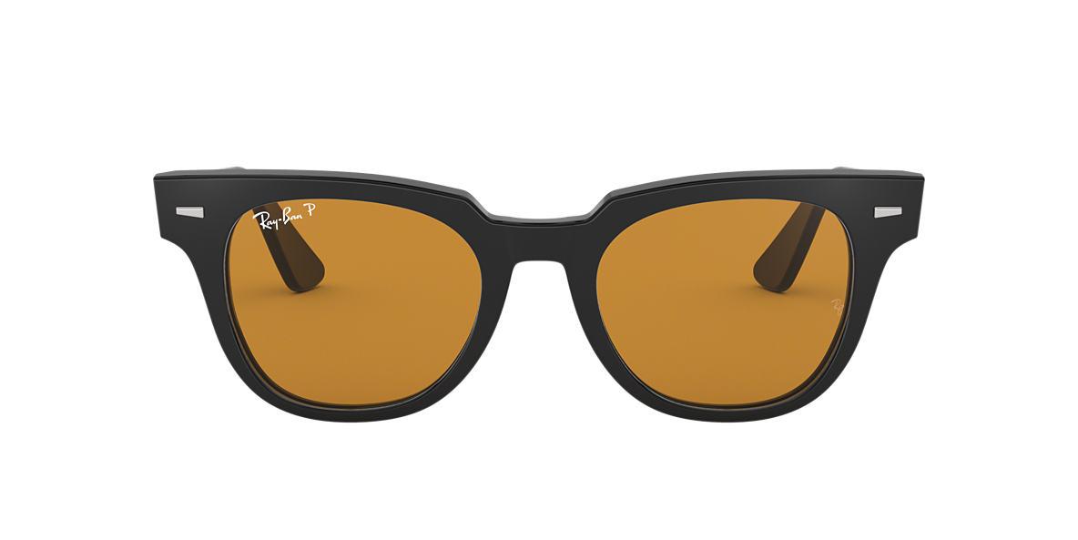 f7f266552b RAY-BAN Black RB2168 Polarized Yellow Classic polarized lenses 50mm