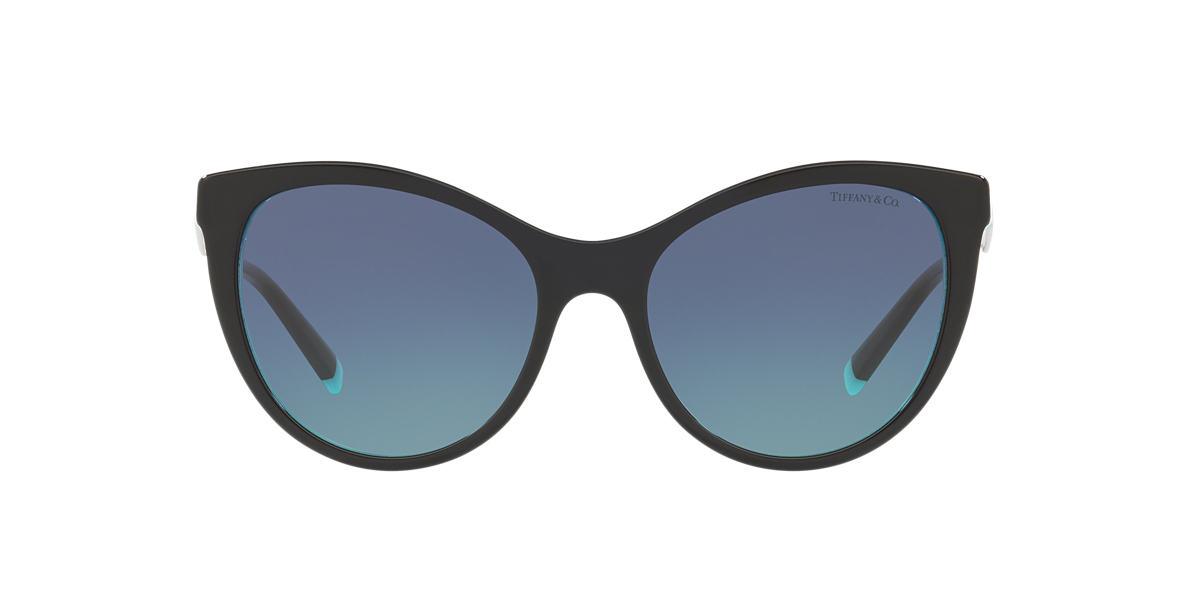 Black TF4159 Tiffany Diamond Point Blue  55