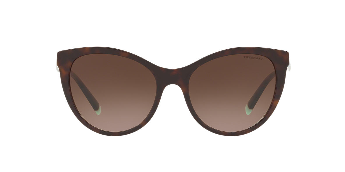 Tortoise TF4159 Tiffany Diamond Point Brown  55