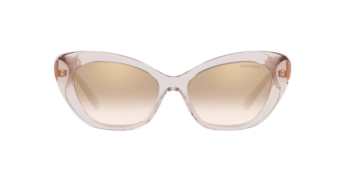 Pink TF4158 Tiffany Diamond Point Gold  54