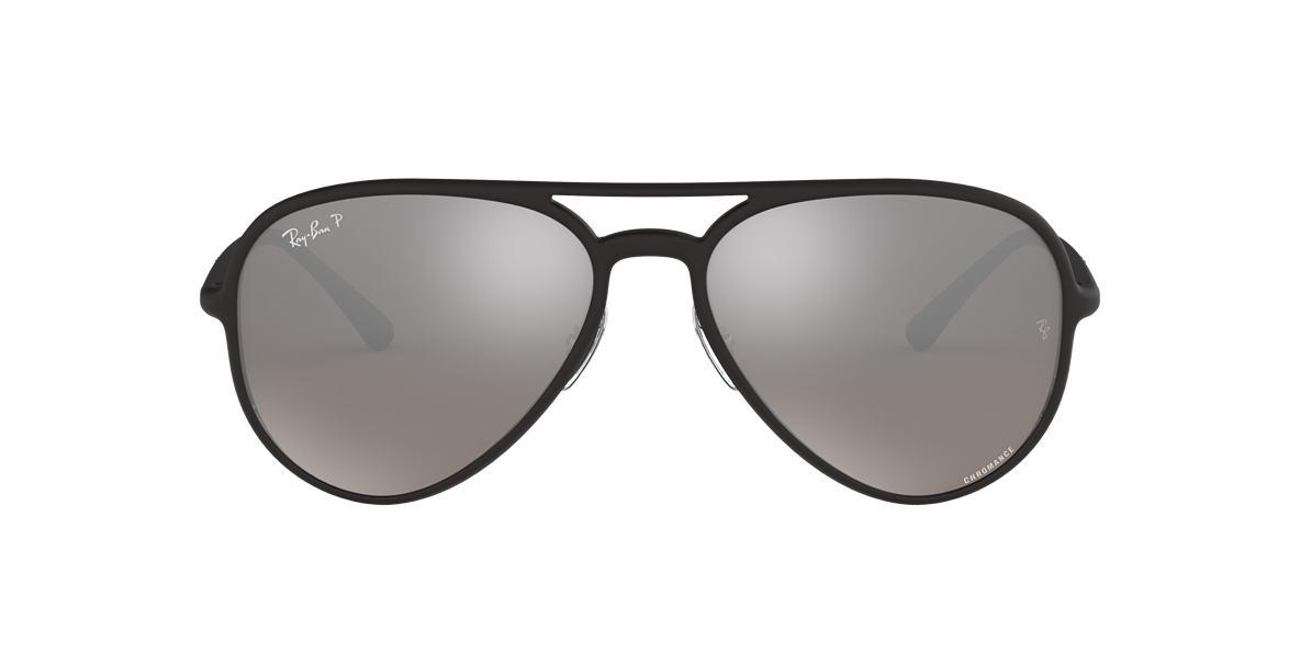 ccdb4d16844 Black RB4320CH Silver Mirror Chromance Polarized polarized lenses 58mm