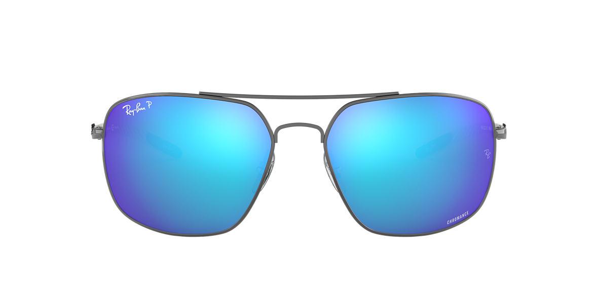 Gunmetal RB8322CH Chromance Blue  62