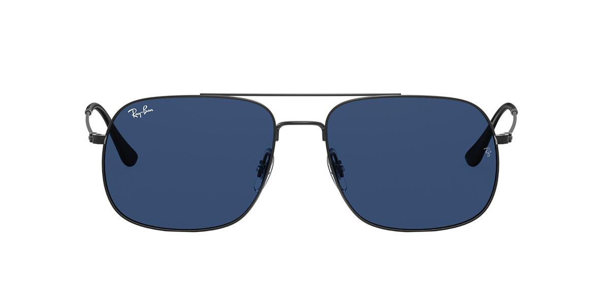 Schwarz RB3595 Blau  59