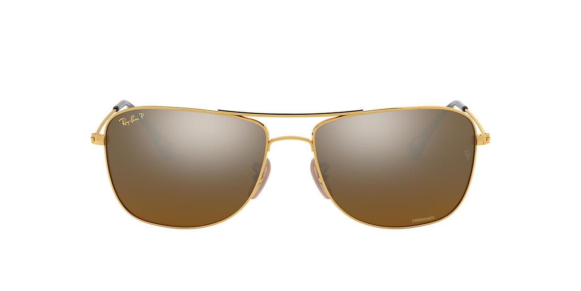 Gold RB3543 Chromance Copper  59