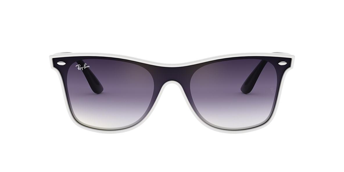 White RB4440N BLAZE WAYFARER Violet  01
