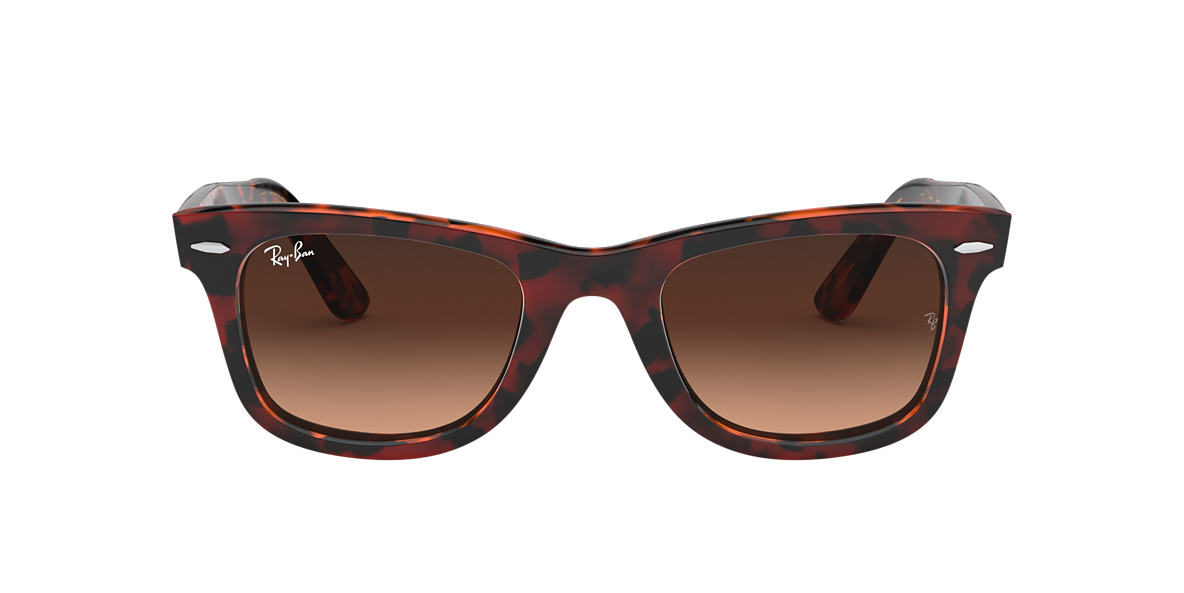 Red Havana RB2140 ORIGINAL WAYFARER COLOR MIX Brown/Pink Gradient  50