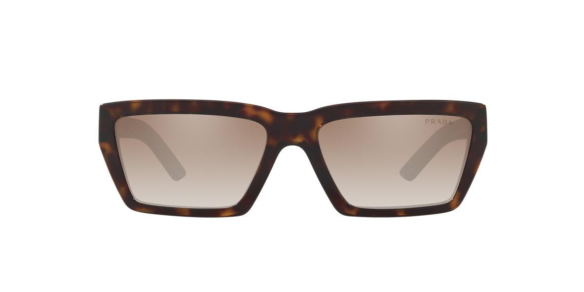 32b9447970 Prada PR 04VS 57 Silver   Tortoise Sunglasses