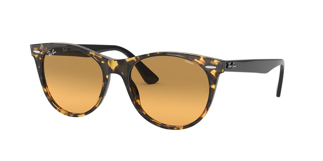 e8f872fddd Ray-Ban RB2185 55 Photocromic Orange Gradient Brown   Yellow Havana ...