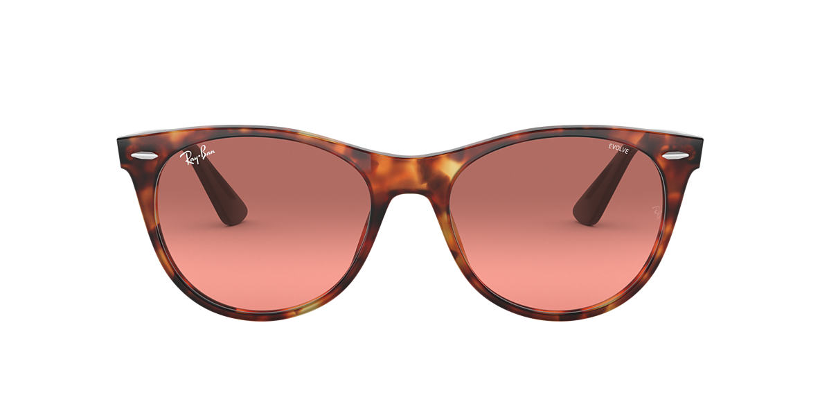 Red Havana RB2185 WAYFARER II EVOLVE Red  55