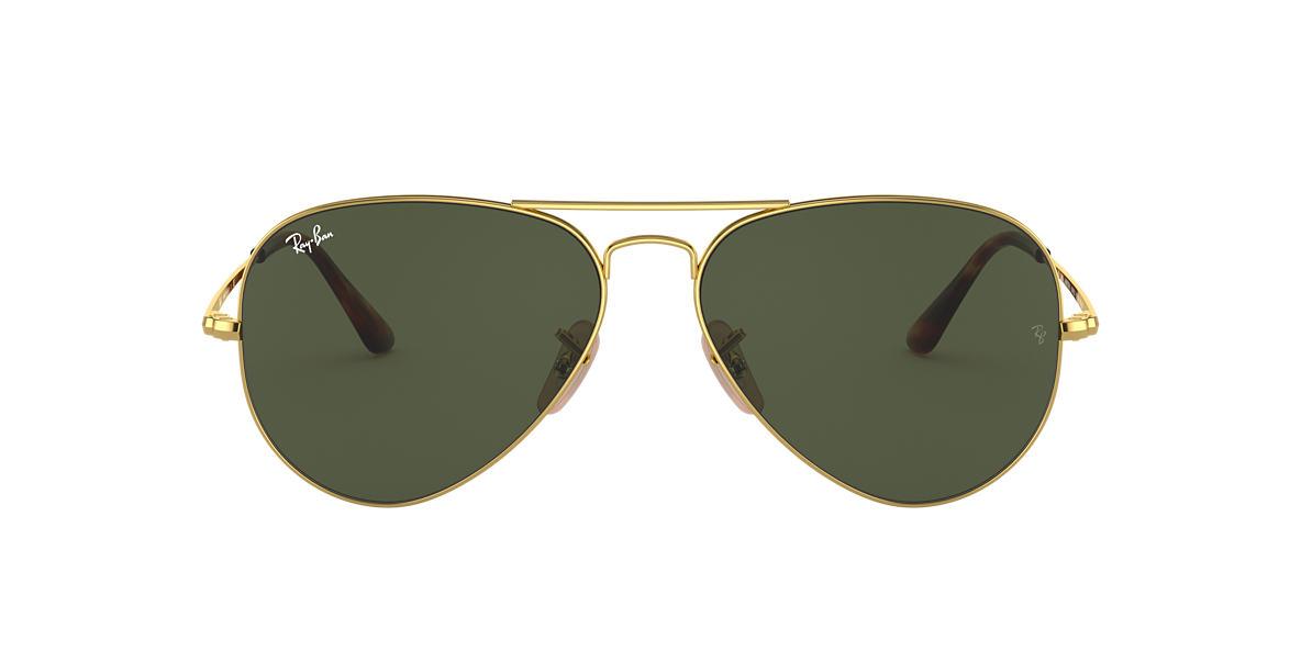 Gold RB3689 EVOLVE Green  58