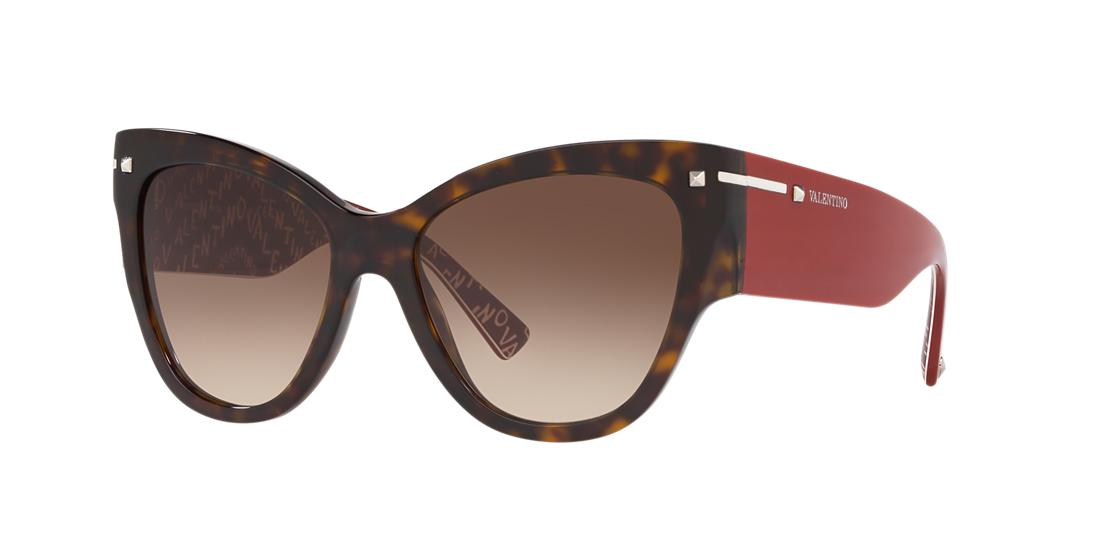 Valentino Woman  VA4028 -  Frame color: Tortoise, Lens color: Brown, Size 55-17/140