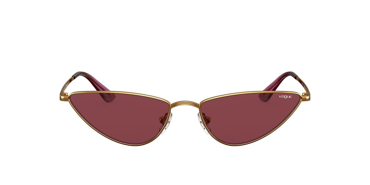 Gold VO4138S Gigi Hadid x Vogue Eyewear Violet  56