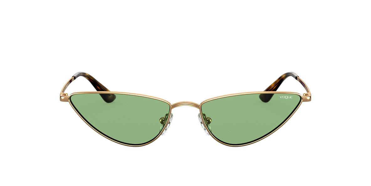Gold VO4138S Gigi Hadid x Vogue Eyewear Green  56