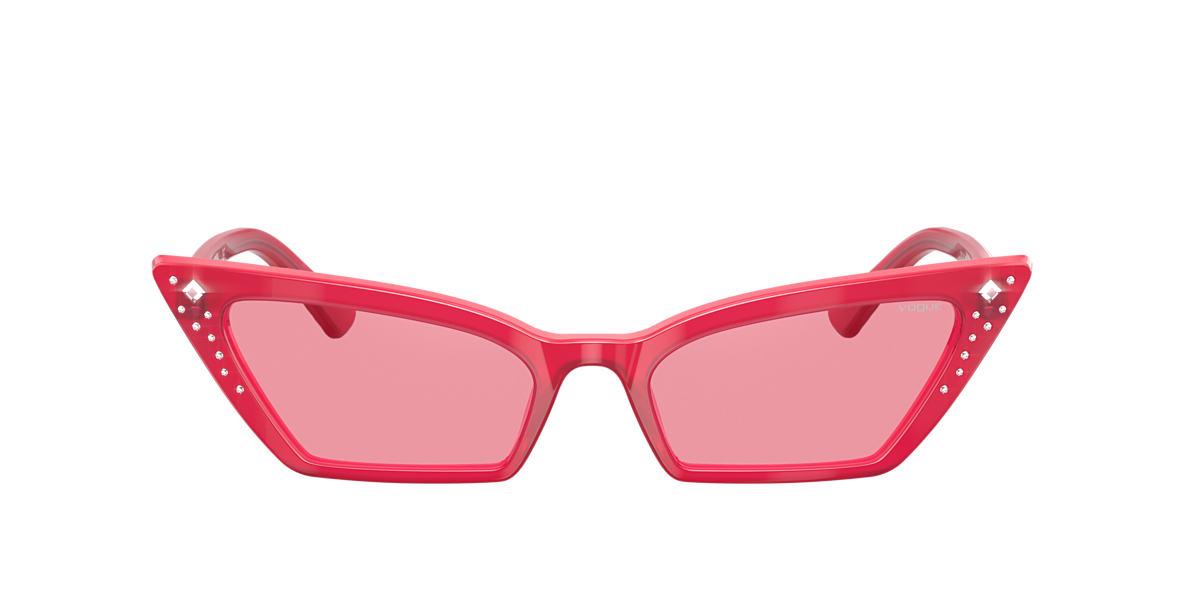 Red VO5282SB Gigi Hadid x Vogue Eyewear Pink  54