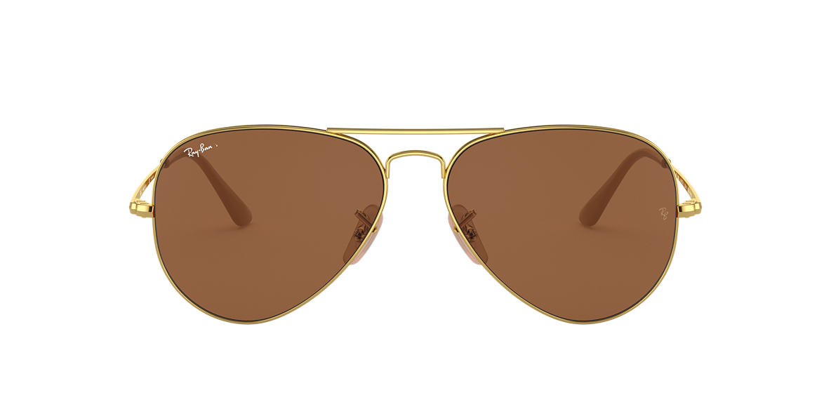 Gold RB3689 Brown  55