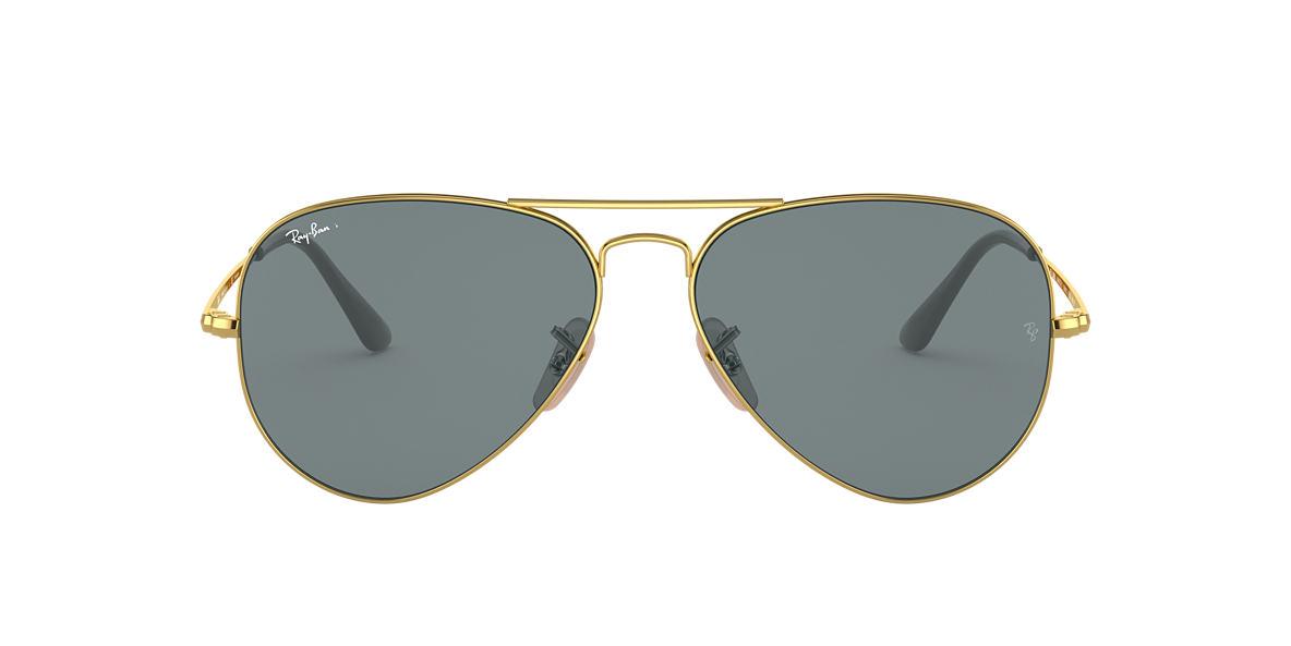 Gold RB3689 Blue  58