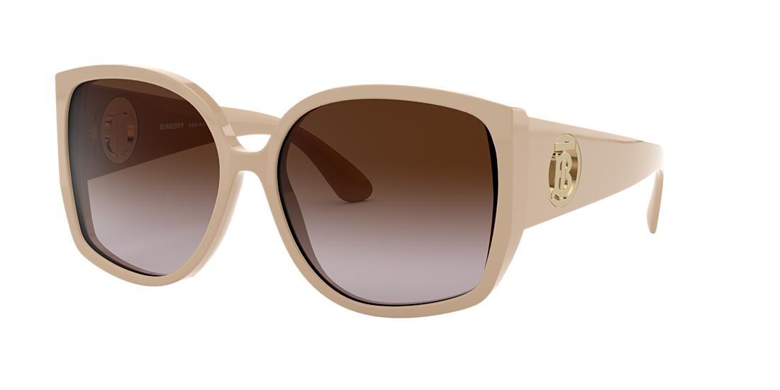 e037a43932e Burberry Sunglasses, Be4290 61 In Beige/Brown Gradient   ModeSens
