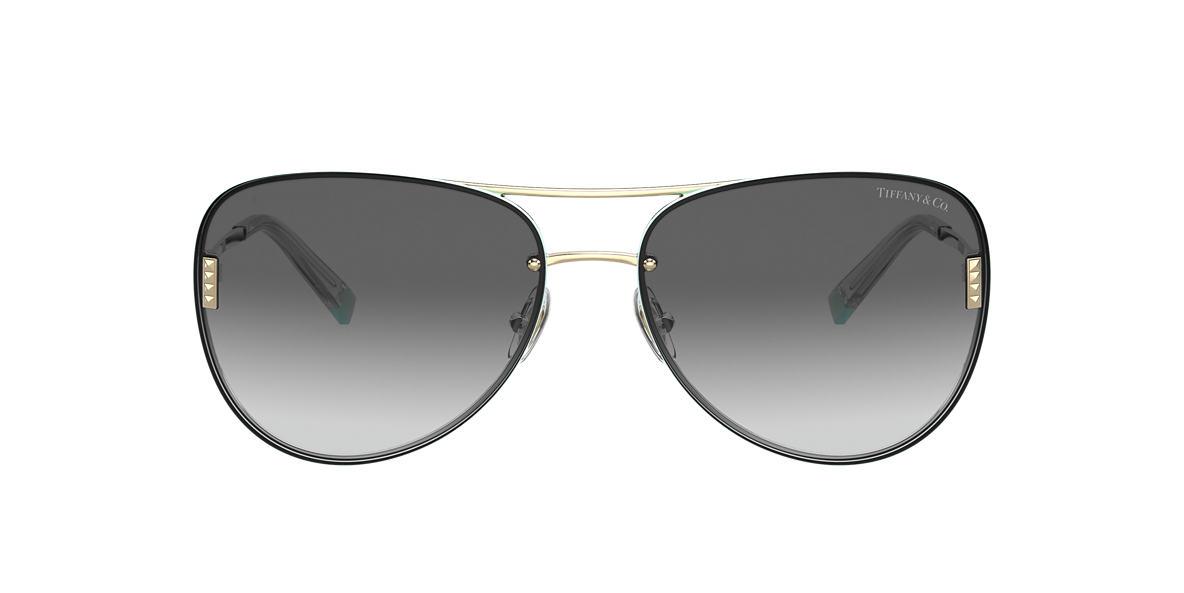 Silver TF3066 Tiffany T Grey-Black  62