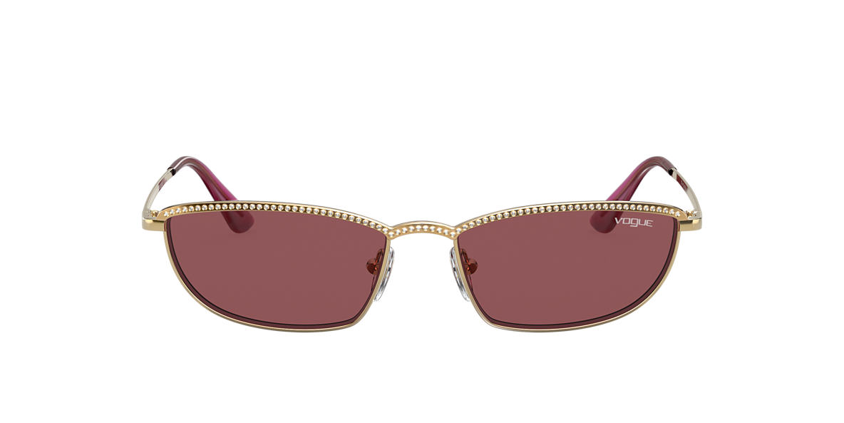 Gold VO4139SB Gigi Hadid x Vogue Eyewear Violet  54