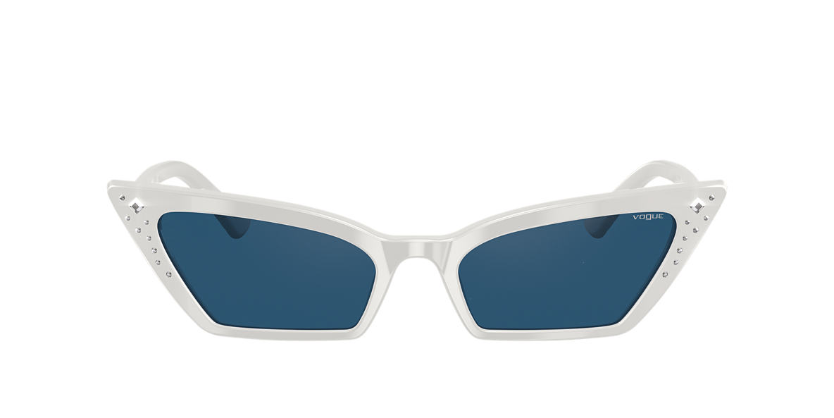 White VO5282SB Gigi Hadid x Vogue Eyewear Blue  54