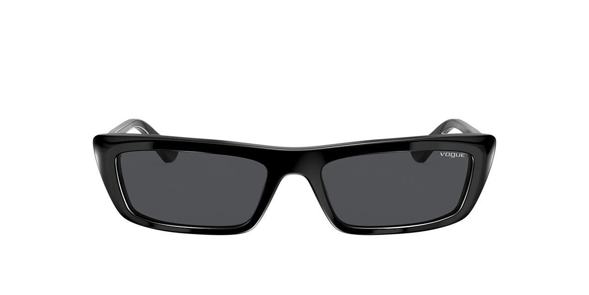 Black VO5283S Gigi Hadid x Vogue Eyewear Grey-Black  54