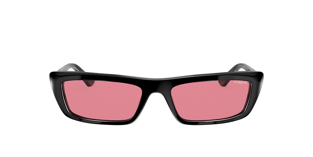 Black VO5283S Gigi Hadid x Vogue Eyewear Pink  54