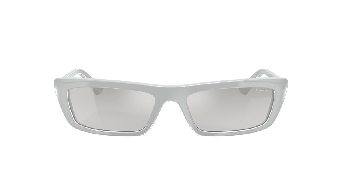 Grey VO5283S Gigi Hadid x Vogue Eyewear Silver  54