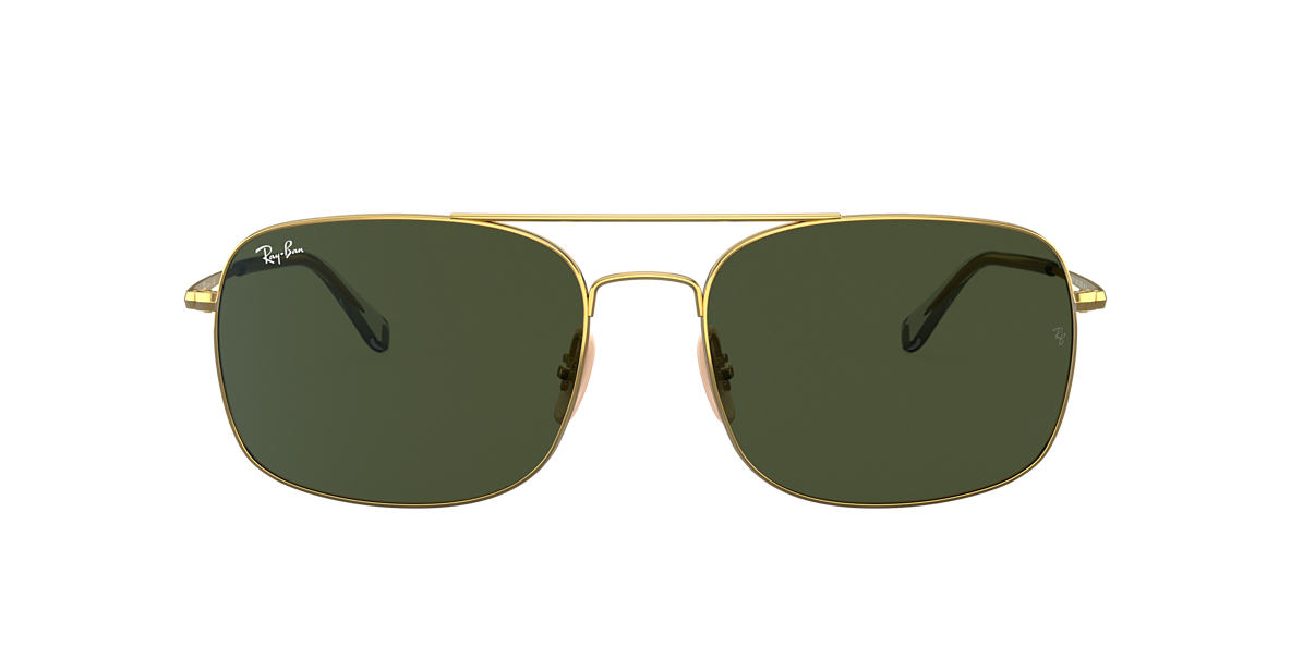 Gold RB3611 Green  60